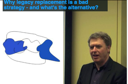 Eric Evans presentation on legacy replacement
